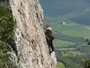 Guided rock climbing in San Bartolo Spain with Barbary Rock Adventures